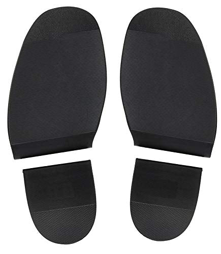 Shoe Repair Replacement Rubber Heels and Soles 1 Pair