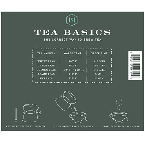 Harney & Sons Organic Peppermint Tea 1.76oz/50g (50 Tea Bags)