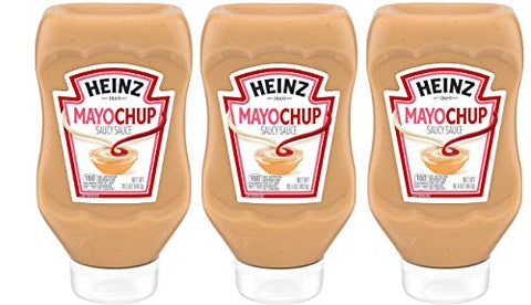 Kraft Heinz Mayochup, 16.5 OZ (PACK - 3)