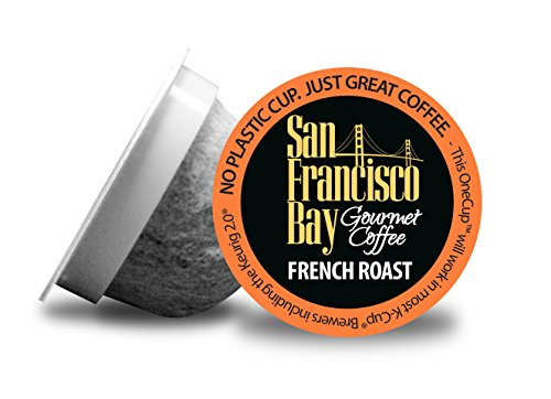 San Francisco Bay OneCup, French Roast, 72 Single Serve Coffees