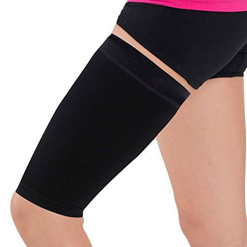 Thigh Compression Sleeve â?? Hamstring, Quadriceps, Groin Pull And Strains â?? Running, Basketball,