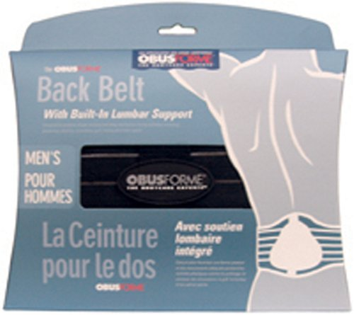 Obus Forme Backbelt for Men, Medium
