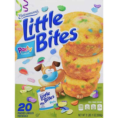 Entenmann's Little Bites Party Cake Muffins 33 oz. A1