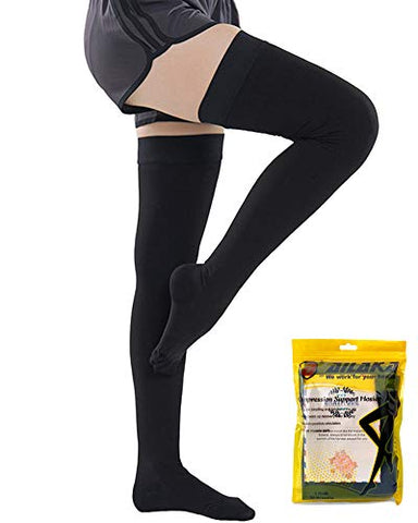 Ailaka Thigh High 20-30 mmHg Compression Stockings for Women & Men