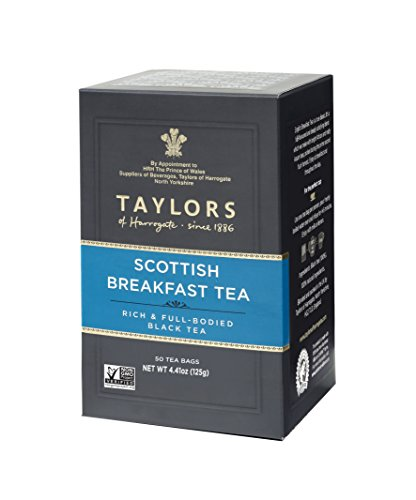 Taylors of Harrogate Scottish Breakfast, 50 Teabags (Pack of 6)