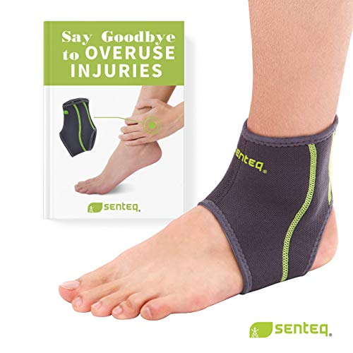 Senteq Ankle Brace Asain Slim Fit  Breathable Neoprene Sleeve Provides Support, Compression And Pain