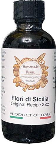 Premium Authentic Fiori di Sicilia Product of Italy 100% Essential Oil of Citrus Fruits 2 oz