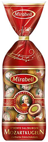 Mozart Balls Chocolate, 23 Pieces With Total 393 Grams, Mirabell Salzburg