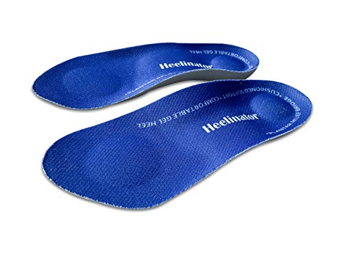Heelinator Premium Quality â¾ Plantar Fasciitis Gel Insole For Men & Women â?? Foot & Heel Pain Reli