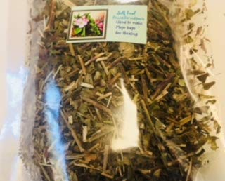 Dried herb ~ Heal all ~ Prunella vulgaris ~1 oz Dried herb stems and pieces ~ Ravenz Roost dried herbs
