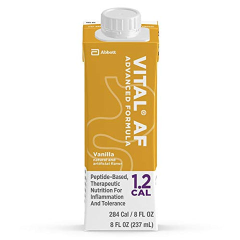Vital AF 1.2 Cal Vanilla Flavor 8 oz. Carton Ready to Use, 64828 - Sold by: Pack of One