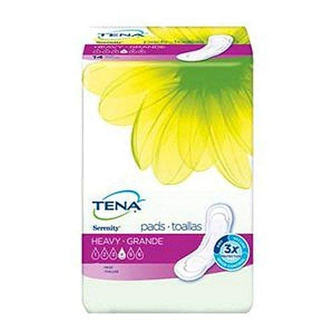 SCA Tena Serenity Heavy Pads, Regular Length, 14/pkg
