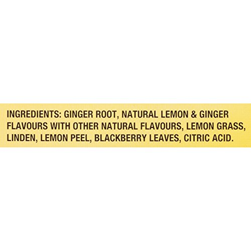 Twinings of London Lemon & Ginger Herbal Tea for Keurig, 24 Count