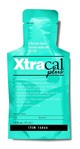 XtraCal Plus High Calorie Supplement, Unflavored 1 oz. Individual Packet Concentrate, 16866 - ONE Packet