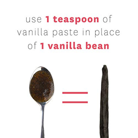 Vanilla Bean Paste for Baking - Heilala Vanilla, the Choice of the Worlds Best Chefs & Bakers, Using Sustainable, Ethically Sourced Vanilla, Multi-Award Winning, Hand-Picked from Polynesia, 2 Pack
