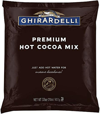 Ghirardelli Chocolate Premium Hot Cocoa, 2 lbs Package