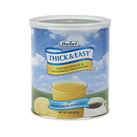 Thick & Easy Food and Beverage Thickener 8 oz. Canister Unflavored Powder, 17938 - Sold by: Pack of One