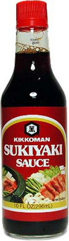 Kikkoman Sukiyaki Sauce, 10-Ounce Bottle (Pack of 3)