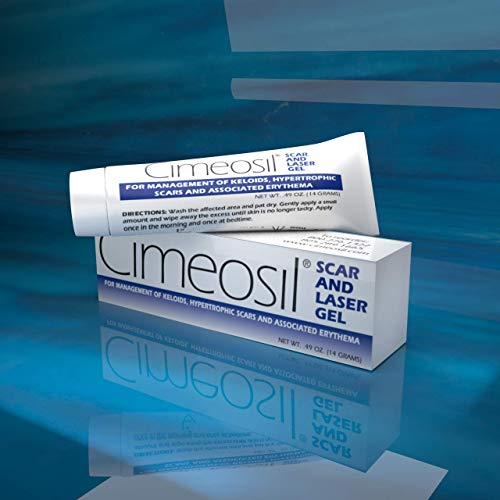 Cimeosil Scar and Laser Gel - Treatment For Keloid & Hypertrophic Scars, Laser & Burns, Reduces Redness, Discoloration & Discomfort (14 Gram)