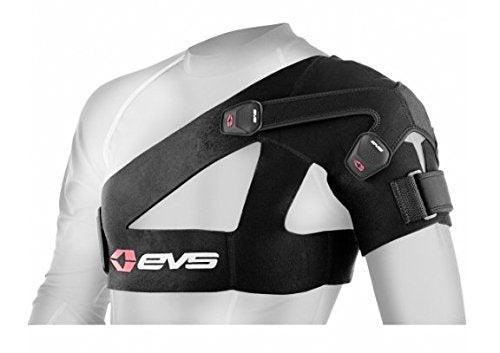 Evs Sports Sb03 Bk M Shoulder Brace, Medium (36   40 Inch), Black, 1 Count
