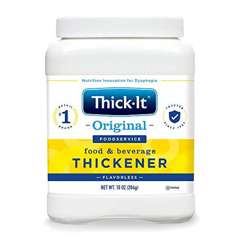 Thick-It Food and Beverage Thickener 10 oz. Canister Unflavored Ready to Use Consistency Varies by Preparation, J588-H5800 - Case of 12