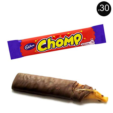 Cadbury Chomp Bars | Total 30 bars of British Chocolate Candy