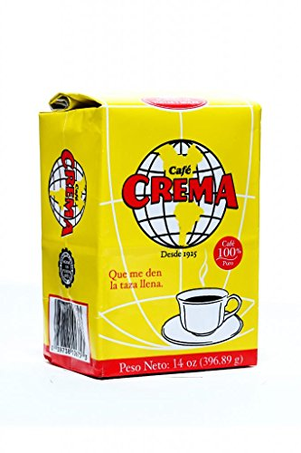 Cafãƒâ© Crema Ground Coffee From Puerto Rico 14 Ounce