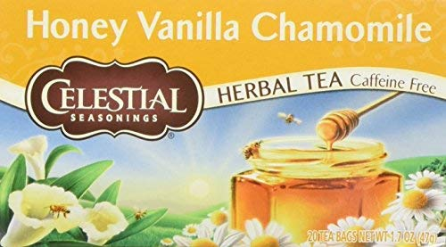 Celestial Seasonings Honey Vanilla Chamomile Tea Bags, 20 ct, 2 pk
