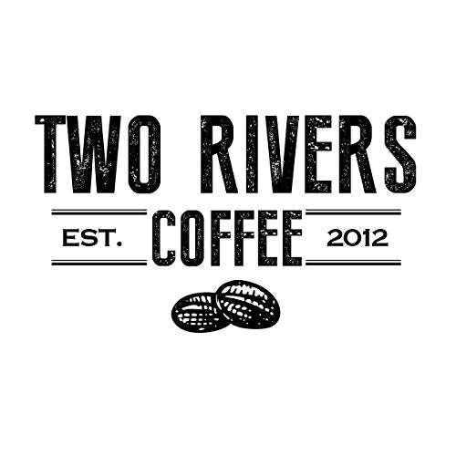 Two Rivers Coffee Bold & Dark Roast Coffee Pods, Compatible With 1.0 And 2.0 Keurig K Cup Brewers, A