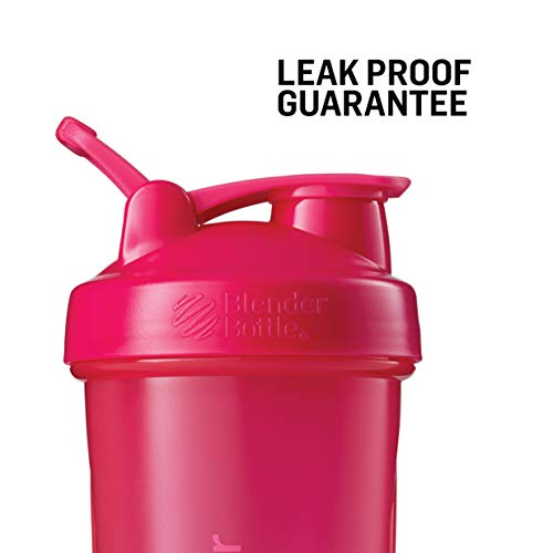 Blender Bottle Classic Loop Top Shaker Bottle, 20oz, Black