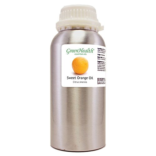 Green Health Sweet Orange â?? 32 Fl Oz (946 Ml) Aluminum Bottle W/Plug Cap â?? 100% Pure Essential Oi