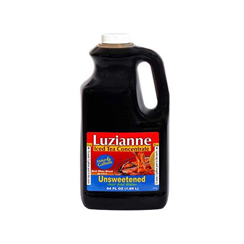 Luzianne Unsweetened Fresh Brew Iced Tea, 64 Ounce -- 6 per case.