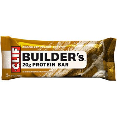 Clif, Builder's, Protein Bar, Chocolate Peanut Butter (Pack of 6)
