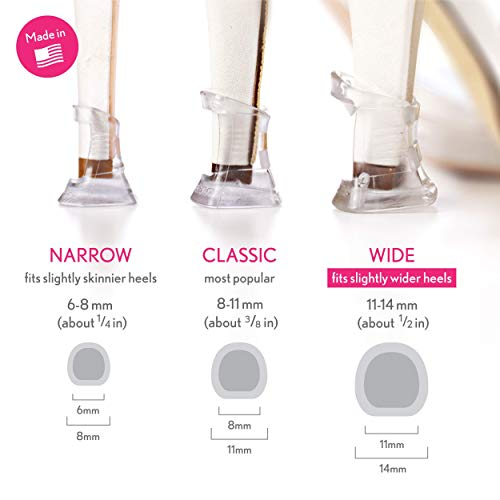 Solemates High Heel Clear Protectors (Clear, Wide)