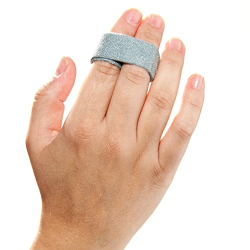 "3-Point Products 3pp Buddy Loops for Jammed and Broken Fingers 3/4"" Wide Gray (Pack of 50)"