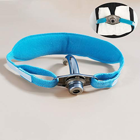 GHzzY Tracheostomy Tube Holder - Tracheostomy Trach Collar/Tie - Neckband for Fixed Tracheostomy Tube(One Size Fit All),1pcs