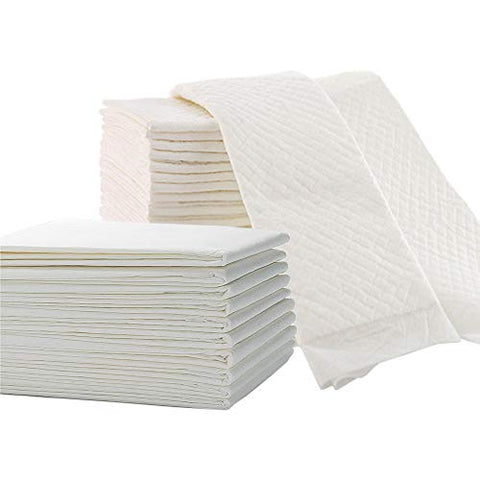 Disposable Underpads(10 Pads)31x36 Waterproof Breathable Bed Pads,Super Absorbent Underpads,Bed Underpads Disposable,Suitable for Newborn Babies,Pets,Elderly (10)