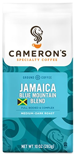 Cameron's Coffee Roasted Ground Coffee Bag, Jamaica Blue Mountain Blend, 10 Ounce (Pack Of 1)