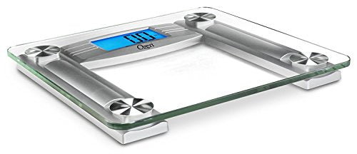 Ozeri ProMax 560 lbs / 255 kg Bath Scale, with 0.1 lbs / 0.05 kg Sensor Technology, and Body Tape Measure & Fat Caliper