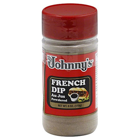 Johnny's Fine Foods Au Jus Powdered French Dip, 6-Ounce (Pack of 6)