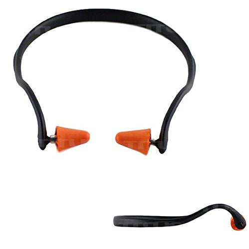 Titus U-Band - Over Ear Reuseable Banded Ear Plugs (25 Decibel, 1 Band, 10 Replacement Plugs)