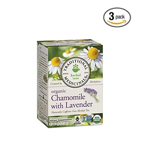 Traditional Medicinal's 100% Chamomile Tea w/Lavender (3x16 bag)