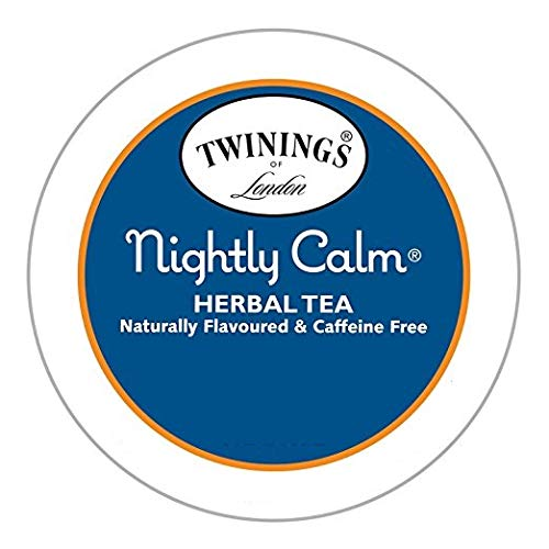 Twinings Nightly Calm Herbal Tea Keurig K-Cups, 24 Count