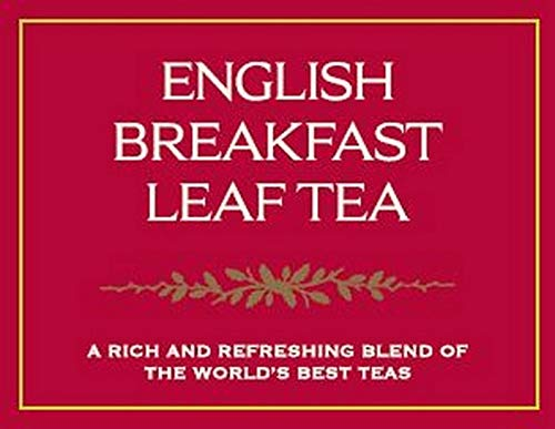 Taylors of Harrogate English Breakfast Loose Leaf, 4.41 Ounce Tin (Pack of 6)