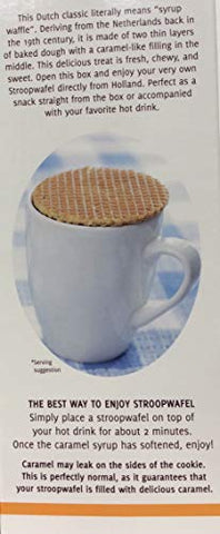 Le Chic Patissier ( 2 PACK ) Original Stroopwafels Toasted Waffles Filled With Caramel 2.78 lb Each Box