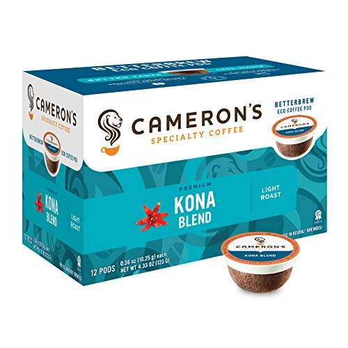 Cameron's Coffee Single Serve Pods, Kona Blend, 12 Count (Pack Of 1)