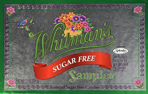 Whitman's Sampler Assorted Sugar Free Candies 10 oz by Whitman's