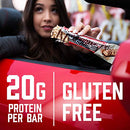 Image of Bsn Protein Bars   Protein Crisp Bar By Syntha 6, Whey Protein, 20g Of Protein, Gluten Free, Low Sug