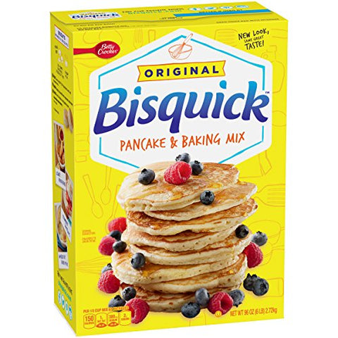 Betty Crocker Bisquick Pancake & Baking Mix 96.0 oz Box (4 pack)