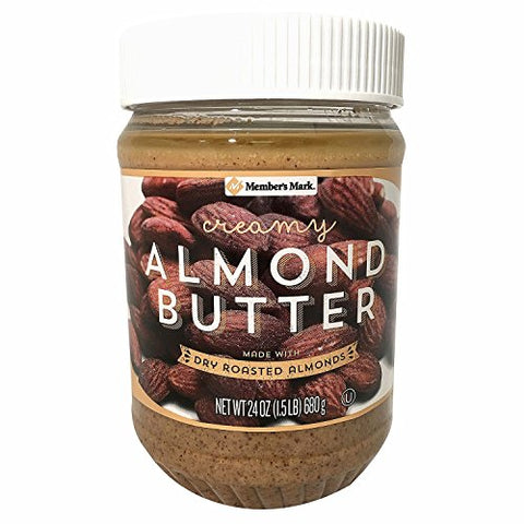 Member's Mark Almond Butter 24 oz. A1